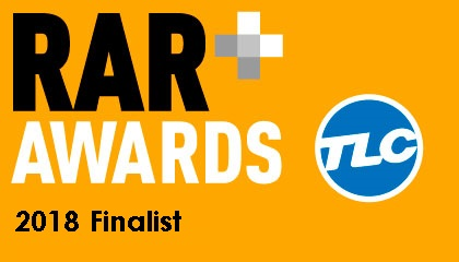 RAR Awards 2018 finalists - TLC Marketing