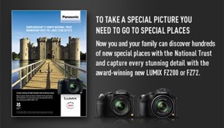 Panasonic campaign with the National Trust