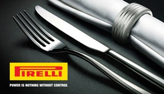 Pirelli takes you to the best restaurants