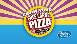 TLC Marketing's campaign for Hasbro and Pizza Hut