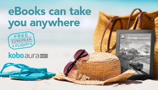 Kobo transports its readers with free flight