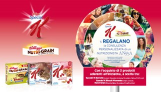 Kellogg's reward customers a free nutrition consultation in latest TLC promotion