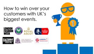 How can your brand capitalise on the big uk events