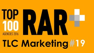 TLC Marketing in at #19 for the RAR Top 100
