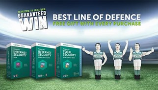 Kaspersky Lab UK kick off 'Best Line of Defence' campaign during the summer of football