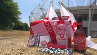 Special treats to get Vodafone customers football ready