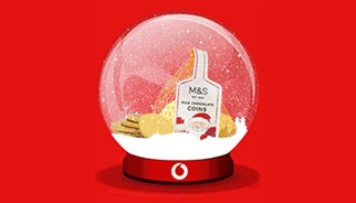 Vodafone Surprise and Delight Xmas campaign to increase brand NPS