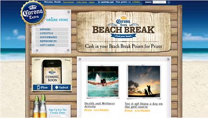 Corona Beach Break Rewards