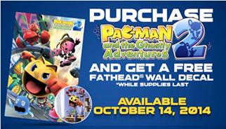 TLC Marketing Pac Man 2 Promo