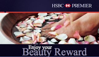 HSBC Beauty Treatment Promotion