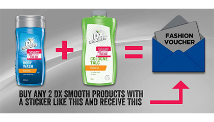 TLC Marketing's campaign for Mandy's and DX Smooth