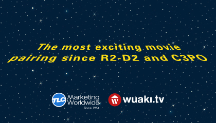 Our blockbuster partnership with Wuaki.tv