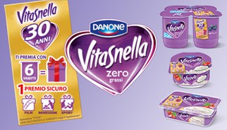 Danone Vitasnella celebrates its 30th anniversary with a campaign from TLC Marketing Worldwide