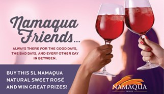 TLC Marketing's Campaign for Namaqua wines