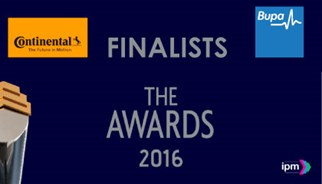 Continental and Bupa finalists in the IPM Awards 2016