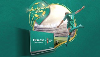 Here is your chance to score with Hisense!